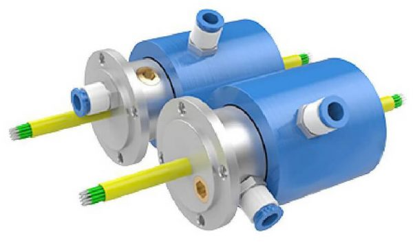 rotary joint with slip ring