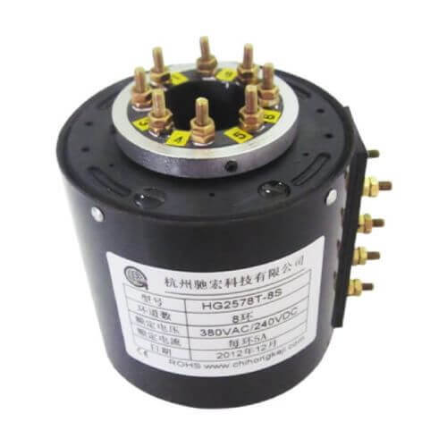 big current slip rings