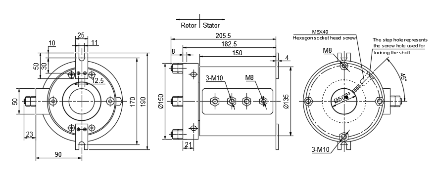 DHG50135-4 drawing