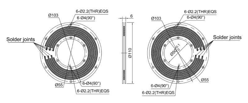PCB slip ring design