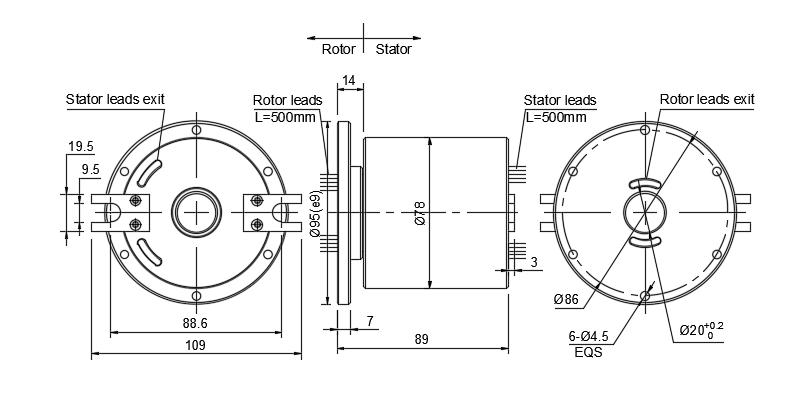 SHG2078-10P drawing