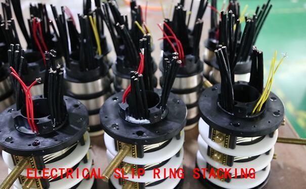 slip ring stacking