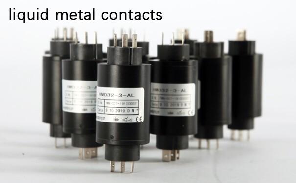 liquid metal contacts