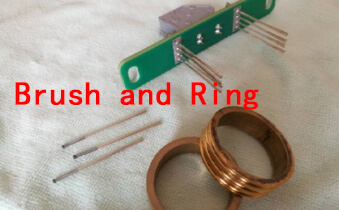 slip ring and brush